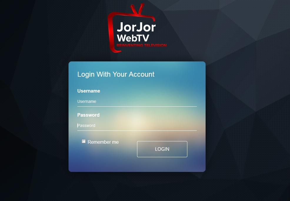 JORJOR WEBTV FOR LIVE TV & MOVIES